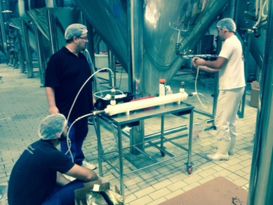 Degassing trial at Saint Bier in Brazil